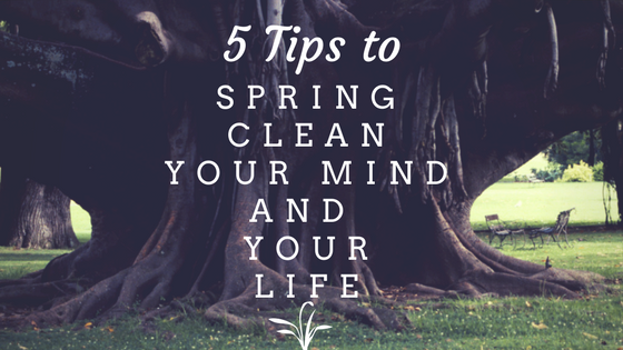 5 tips spring clean your mind