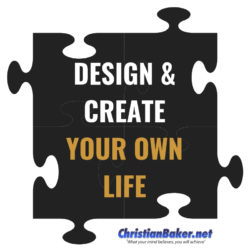 design and create your own life puzzle christian baker